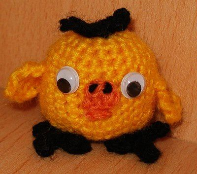 Les petits personnages en crochet et tricot que j'ai fait récemment