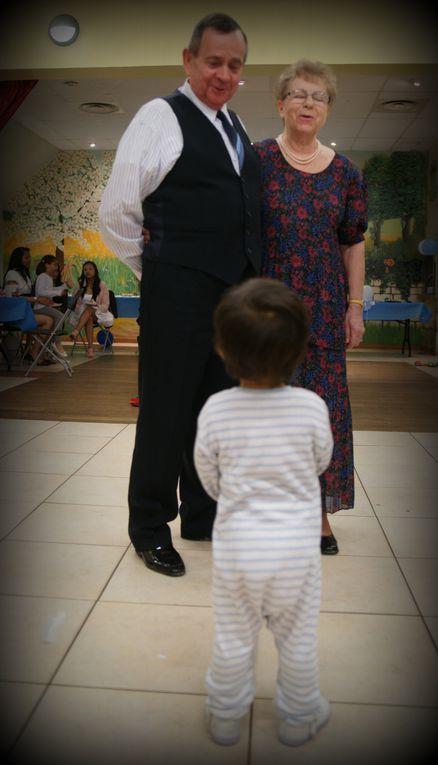 Le baptême: une réunion de famille bien belle et simple