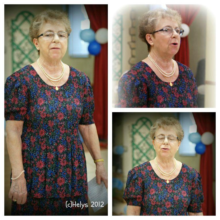 Le dimanche 20 mai 2012, après le baptême, toute la famille s'est réunie autour d'un déjeuner dans la salle des fêtes de Sagy 95 - France