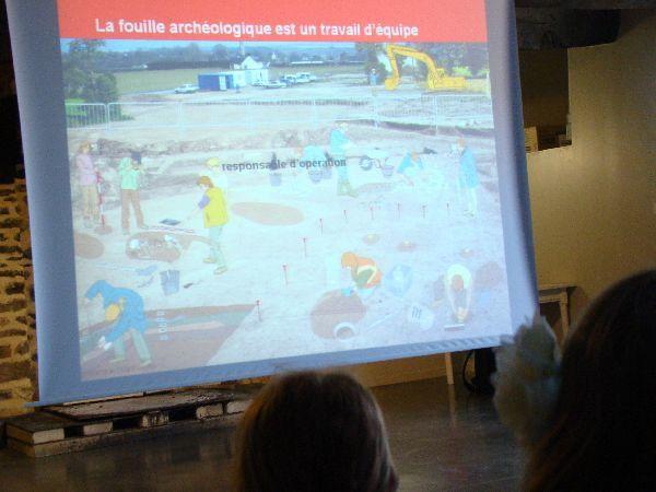 Album - CE2 visite fouilles archéologiques