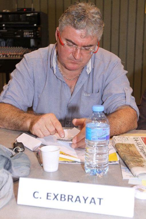 8 novembre 2013 - Plus de 300 délégués des syndicats au congrès de l'Union Départemenatel FO de la Haute-Loire. Jean Claude MAILLY participait aux travaux.