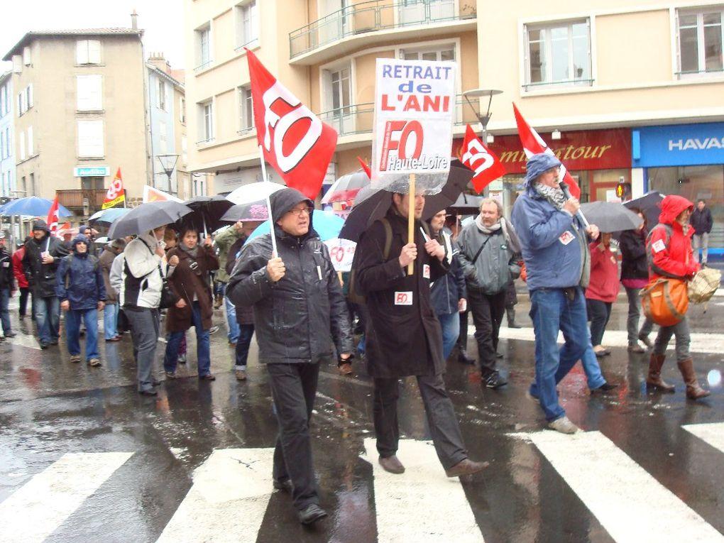 Le 9 avril 2013, pour la seconde fois, les confédérations FO et CGT appelaient à manifester contre la loi de transposition de la loi gouvernement-MEDEF-CFDT