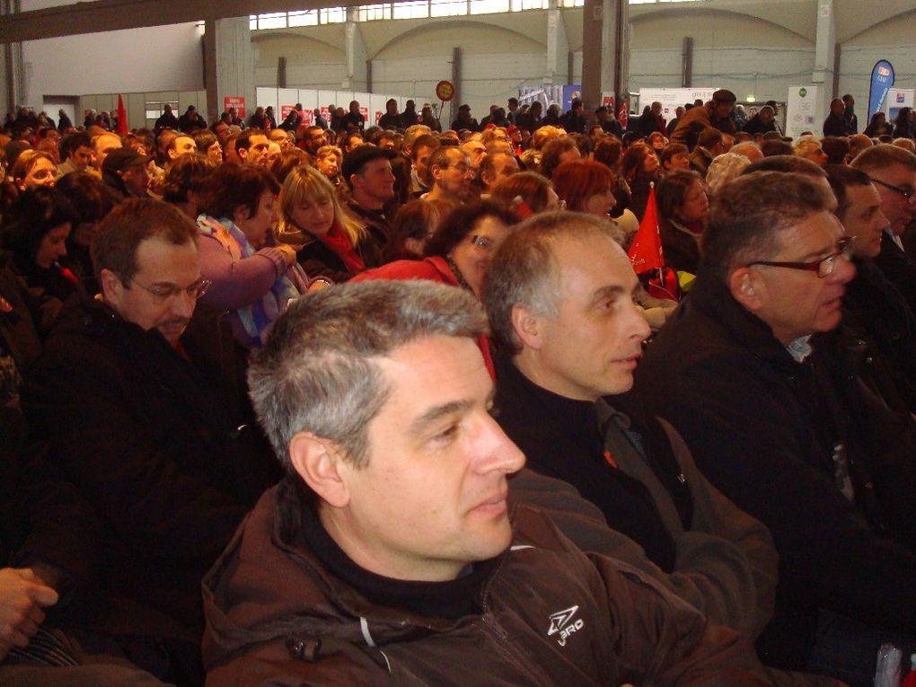 Pari réussi pour FO: 6000 militants au meeting contre l'austérité. 100 militants de la Haute-Loire avaient fait le déplacement.