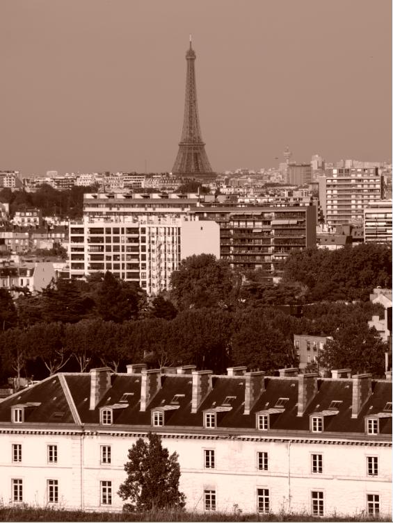 """Visite des parcs, jardins... et Domaines de Paris. Retour au vert, enfin, parfois très structuré quand même. Dame nature a ici été bien """"aidée""""."""