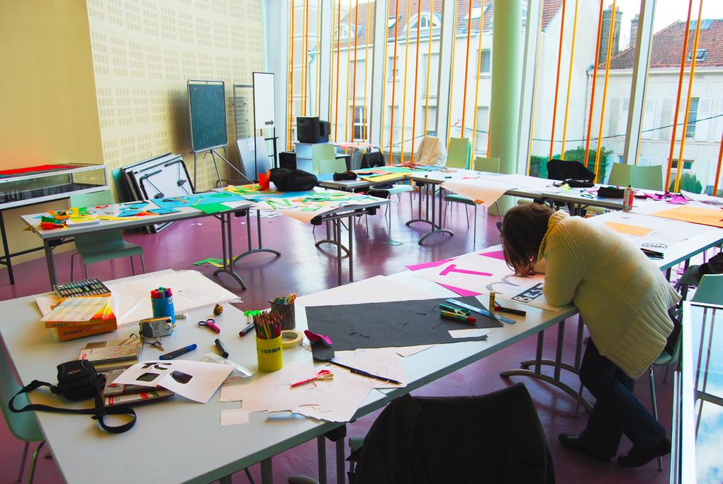 Atelier de Blogs dessinés à la médiathèque de Troyes, le samedi 6 mars 2010.
