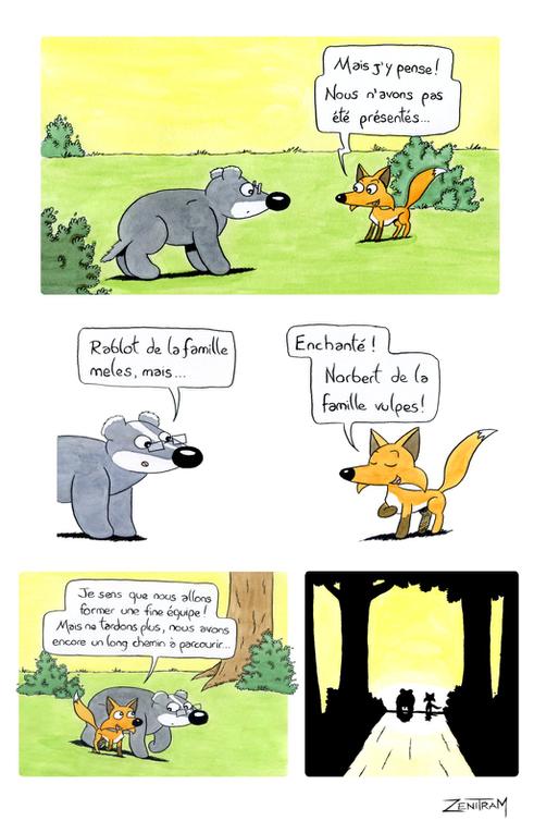 Album consacré à Norbert, le petit renard des prairies