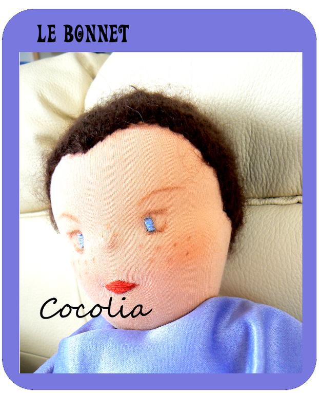 Une poupée de tissu pour ma petite fille