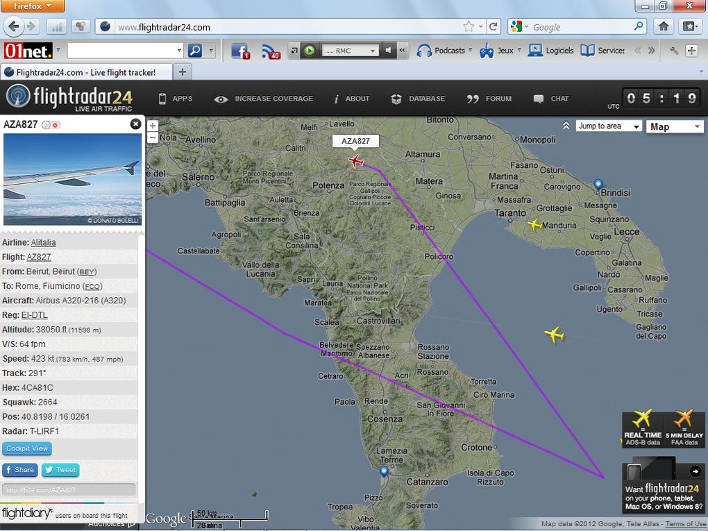Album - Flight Radar 24 : Avions-Europe