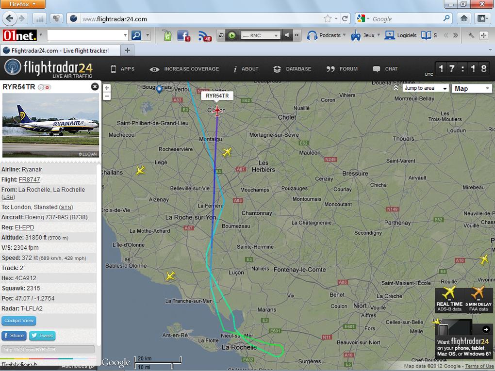 Album - Flight Radar 24 : Avions-low-cost