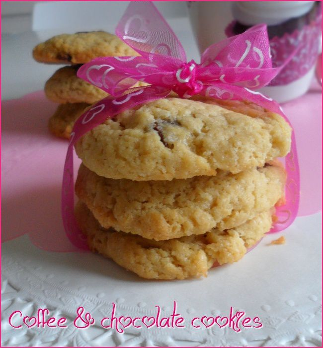 ♥ Coffee and chocolate cookies ♥