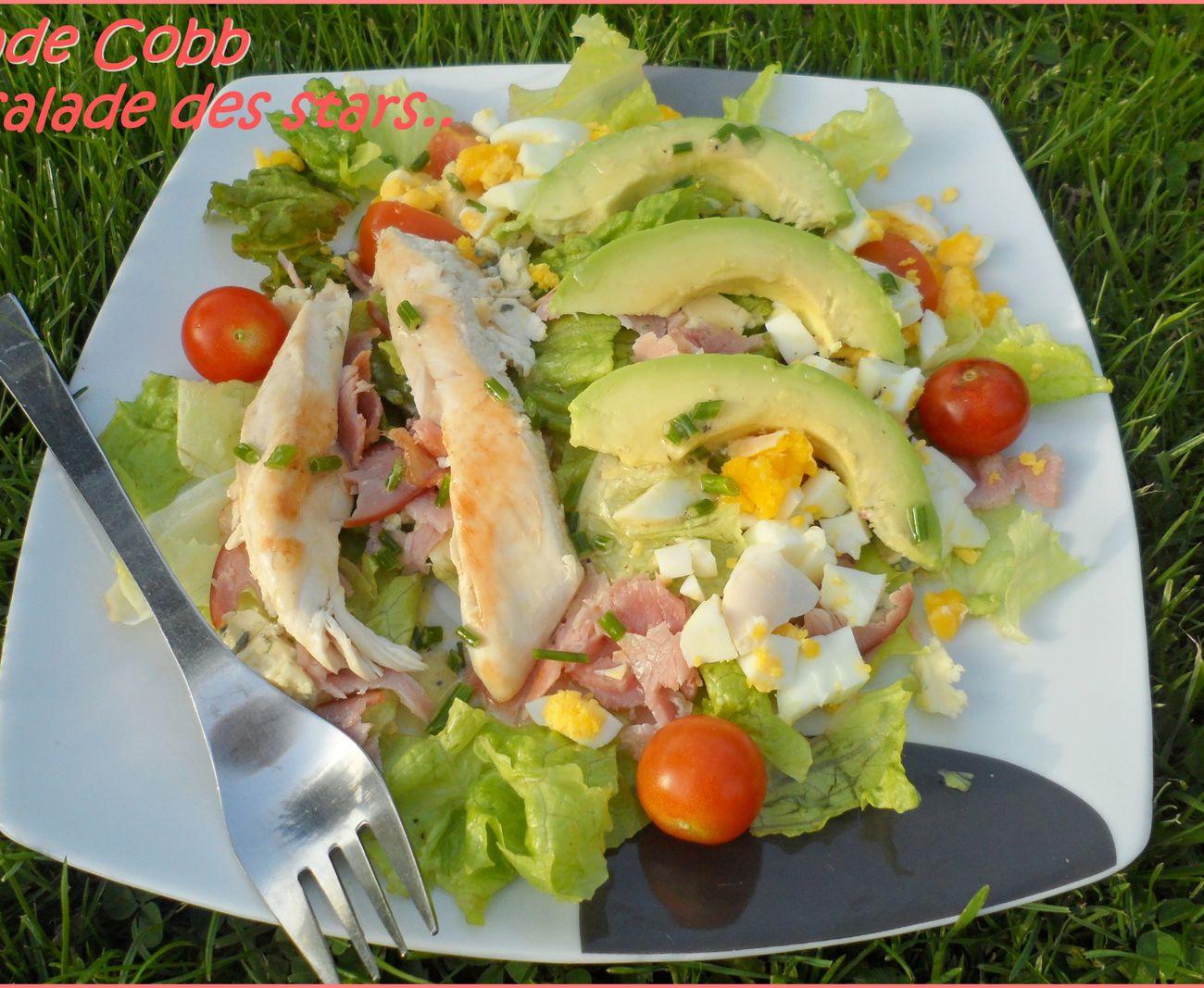 La salade des stars, la Cobb! (ou Miami)