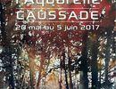 Les aquarelles d'Isabelle Seruch Capouillez sont exposées au salon International de l'aquarelle à Caussade