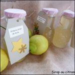 Sirop au citron bio de Sicile, fait maison
