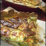 Tarte aux Courgettes et Parmesan à l'Anis Vert