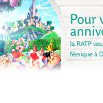 Votre billet offert pour le Parc Disneyland : inscrivez vous avant le 29 décembre inclus