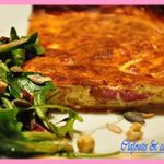 Quiche au Fromage Blanc-Bacon & WW