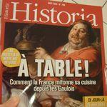 Un magazine qui s'intéresse à la gastronomie
