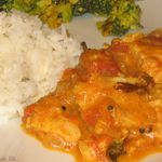 Curry de poisson