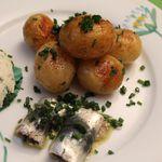 Bonnotes de Noirmoutier et sardines...du soir!