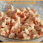 Salade de Riz - Surimi - Crevettes - Ananas