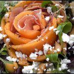 Salade Melon, Jambon Cru, Féta ou Salade vide frigo