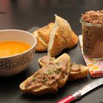Rillettes de lapin au manor