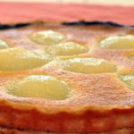 Tarte aux Poires, Amandes et Chocolat- Pear, Almonds and Chocolate Tart