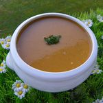 VELOUTE D'AUBERGINE (thermomix)