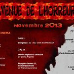 L'Agenda Horrifique de Novembre 2013