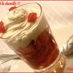 Fraises à la chantilly
