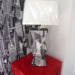 LAMPE EN CARTON NEW YORK