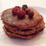 Pancake protéinés au chocolat