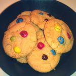 Les cookies m&m's par Florence