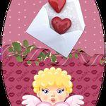 Etiquettes St Valentin à imprimer