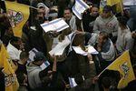 NOUVEAU DRAPEAU A BRÛLER.....en provenance de Ramallah