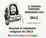 II Premios Bernardo Gui