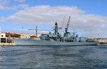 Royal Navy warship prepares for counter-narcotics assignment