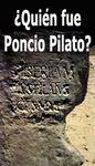 ¿Quién fue Poncio Pilato?