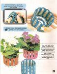 DIY : Vase languettes au crochet