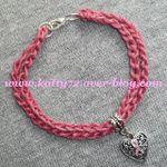 Un bracelet au crochet