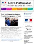 Najat Vallaud-Belkacem lance la lettre d'information du ministère des droits des femmes