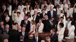 Fédérateur et messianique, Donald Trump réussit son examen de passage au Congrès