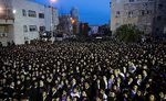 35 Thousand Haredim Protest Draft, 10 Cops Injured