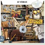 "Collection "" At School"" & Freebies"