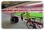 Sur le chantier du Stade du Hainaut, « la pression est à son maximum »
