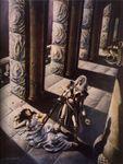 La mort de Cymoril par Franck Brunner