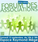 Forum des associations samedi 13 septembre 2014 au Raincy
