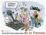 Humour: la journée internationale de la femme en images & bd - 2015