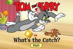 jeu flash gratuit :Tom et Jerry : What's the catch ?