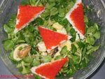 Salade aux 2 oeufs